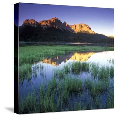 Mountain Reflection in Brooks Lake, Wyoming