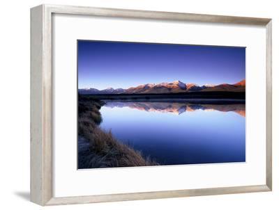 Reflection of Mount Elbert in Crystal Lake Near Leadville, Colorado