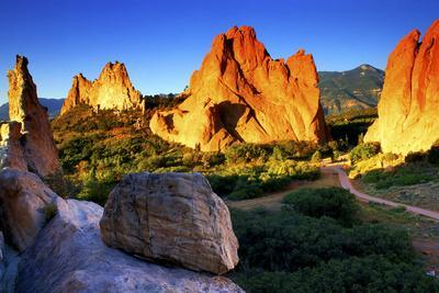 Sunrise at Garden of the Gods, Colorado