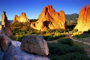 Sunrise at Garden of the Gods, Colorado by Keith Ladzinski