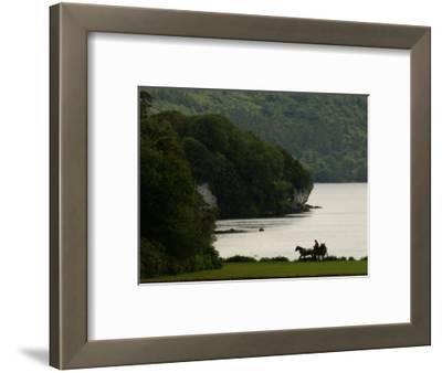 Ireland, Killarney, Horse and Cart by Lake