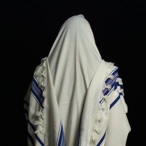 Judaic Symbol, Prayer Shawl, Tallit by Keith Levit