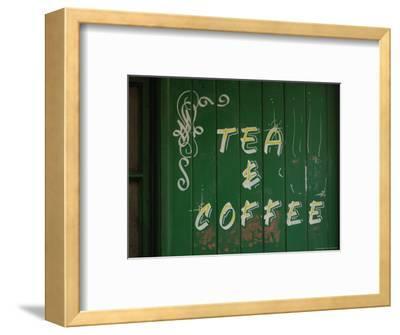 Tea and Coffee Sign, London, England