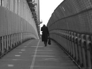 View from Manhattan Bridge, New York City by Keith Levit