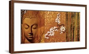 Buddha Panel I by Keith Mallett