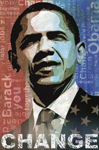 Obama: Change by Keith Mallett