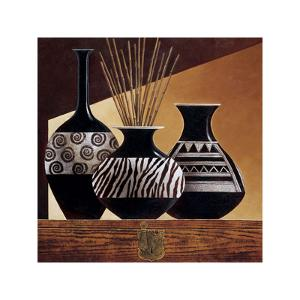 Patterns in Ebony I by Keith Mallett