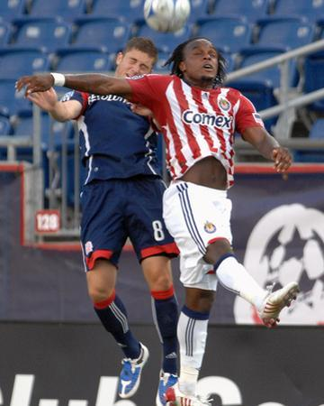 Jul 19, 2009, Chivas USA vs New England Revolution - Chris Tierney by Keith Nordstrom
