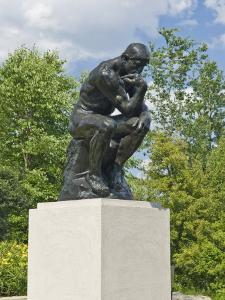 The Thinker, Frederik Meijer Gardens, Grand Rapids, Michigan by Keith & Rebecca Snell