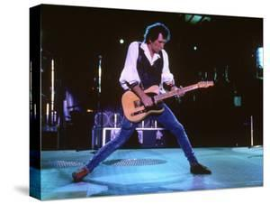 Keith Richards During a Performance by the Rolling Stones