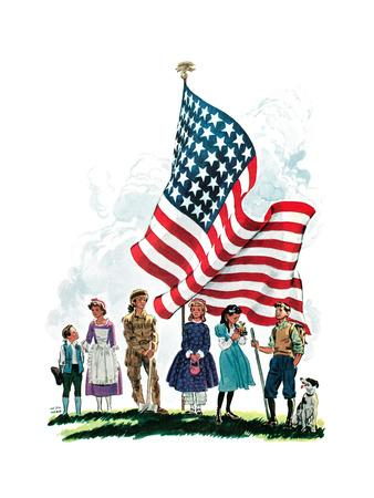 Young Patriots - Child Life
