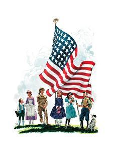 Young Patriots - Child Life by Keith Ward