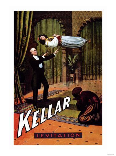 Kellar: Levitation--Art Print