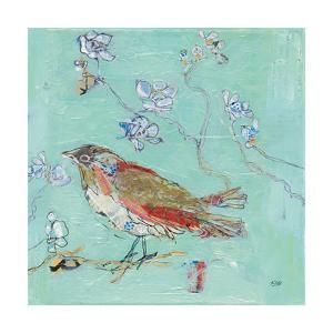 Aqua Bird by Kellie Day