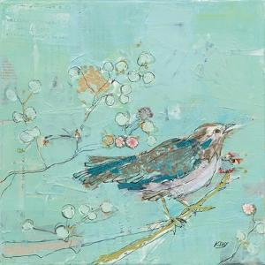 Birds of a Feather with Teal by Kellie Day