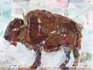 El Buffalo Brown Crop by Kellie Day