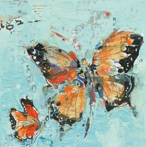 Monarch II Light Blue by Kellie Day