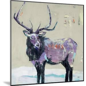 Winter Elk by Kellie Day
