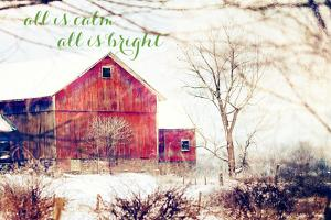 Calm and Bright Barn by Kelly Poynter