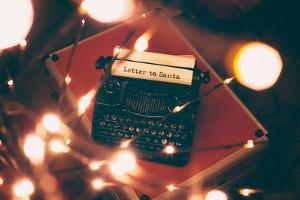 Letter to Santa by Kelly Poynter