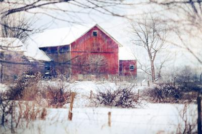 Winter Barn by Kelly Poynter