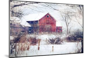 Winter Barn by Kelly Poynter