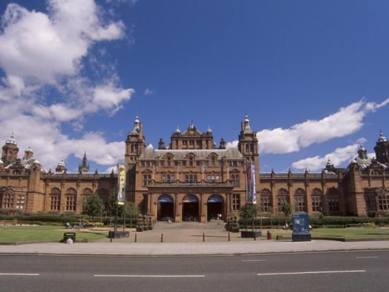 Kelvingrove Art Gallery and Museum Dating from the 19th Century, Glasgow, Scotland, United Kingdom-Patrick Dieudonne-Photographic Print