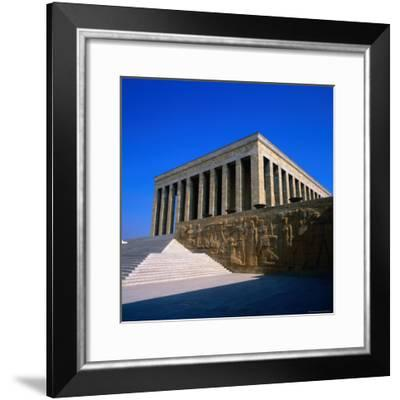 Kemal Ataturk's Mausoleum in Ankara, Ankara, Ankara, Turkey-Wes Walker-Framed Photographic Print