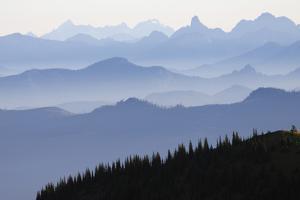 Mount Rainier National Park, Cascade Mountains by Ken Archer