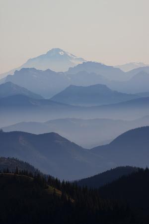 Mount Rainier National Park, Cascade Mountains