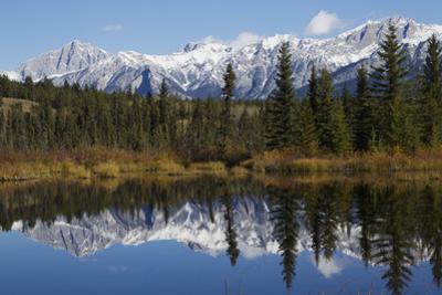 Mountain Landscape, Canadian Rockies by Ken Archer