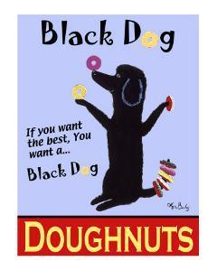 Black Dog Doughnuts by Ken Bailey