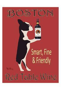 Boston Red Table Wine by Ken Bailey