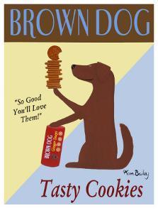 Brown Dog Cookies by Ken Bailey