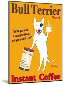 Bull Terrier Brand by Ken Bailey