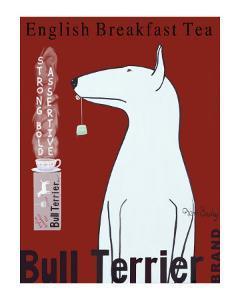Bull Terrier Tea by Ken Bailey