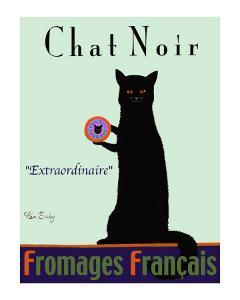 Chat Noir - Black Cat by Ken Bailey