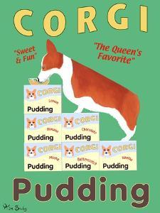 Corgi Pudding by Ken Bailey