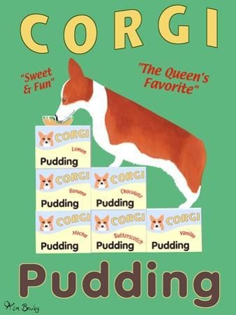 Corgi Pudding