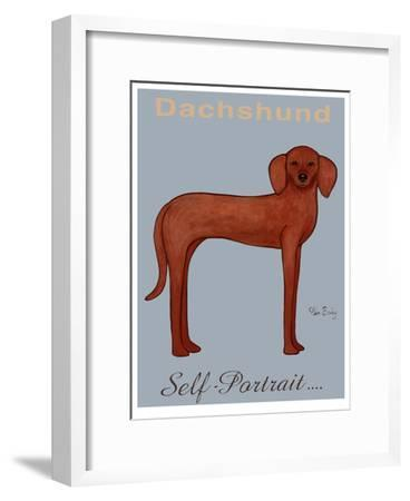 Dachshund Self-Portrait