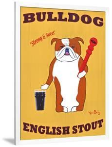 English Bulldog 2 by Ken Bailey
