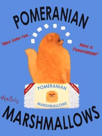Pomeranian by Ken Bailey