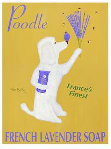 Poodle French Lavender Soap by Ken Bailey