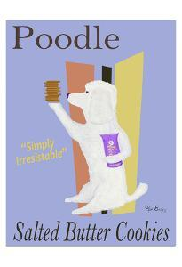 Poodle Salted Butter Cookies (SABLÉS BRETONS) by Ken Bailey