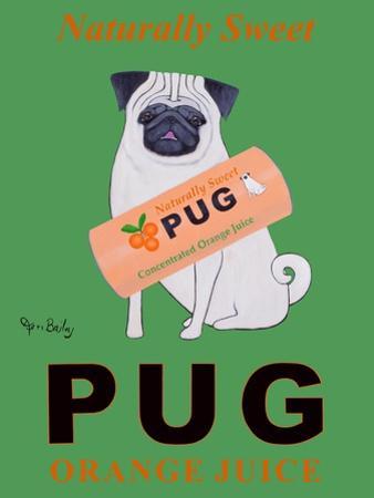 Pug Orange Juice by Ken Bailey