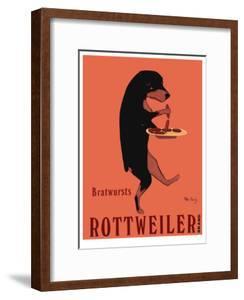 Rottweiler Brand by Ken Bailey