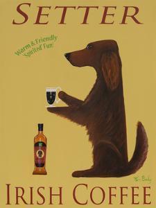 Setter Irish Coffee by Ken Bailey