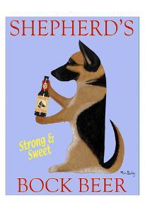 Shepherd'S Bock Beer by Ken Bailey