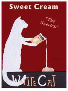 White Cat Cream by Ken Bailey