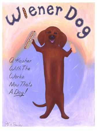 Wiener Dog by Ken Bailey